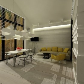 projekt wnetrza domu jednorodzinnego