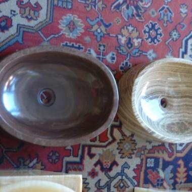 owalna umywalka kamienna, kamienne umywalki owalne, owalne umywalki z kamienia, owalna umywalka z marmuru, owalne umywalki z onyksu, owalna umywalka z trawertynu, owalna umywalka z marmuru Coffee Wood, owalna umywalka brązowa z kamienia,