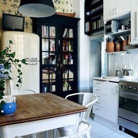 Biało-czarna kuchnia - inspiracje