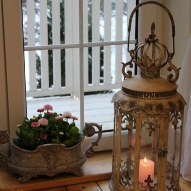 ...a za oknem zima :(