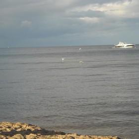 Niedzielny spacer nad morzem............