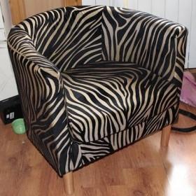metamorfoza fotela z ikea