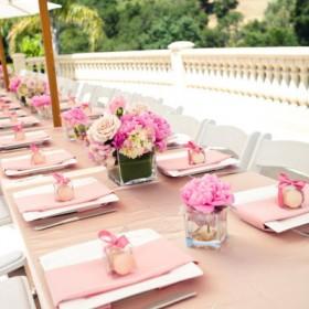 Dekoracje - wesele w plenerze