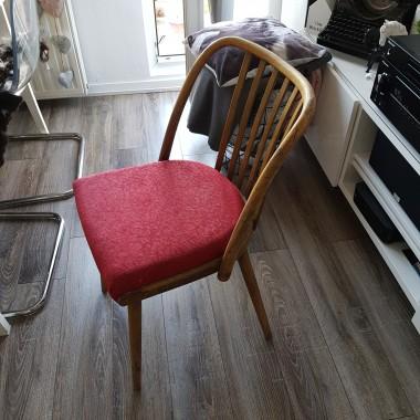 krzesło przed i po