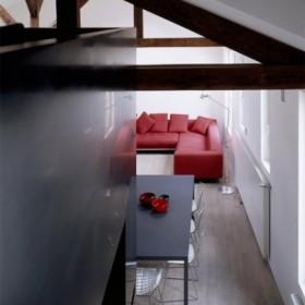 Francuski loft w męskim stylu