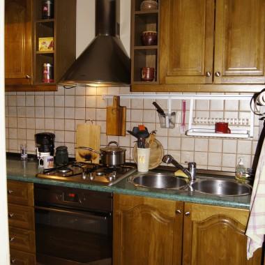 Kuchnia - przed remontem