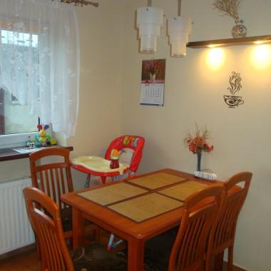 to jest kuchnia mojej mamy na parterze domu korzystam z niej bo moja czeka na urzadzenie....