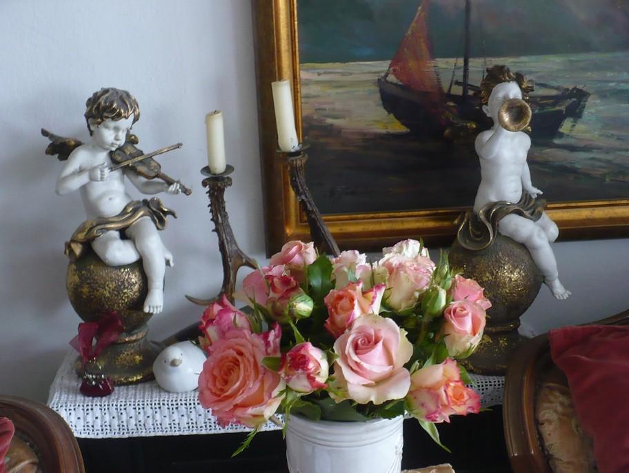 Pozostałe, Letnie klimaty................ - ..............i bukiet róż..........
