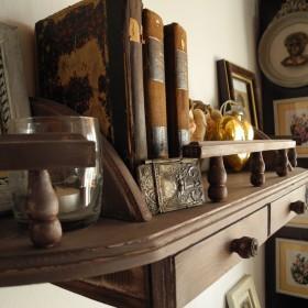 Półka na książki i inne drobiazgi