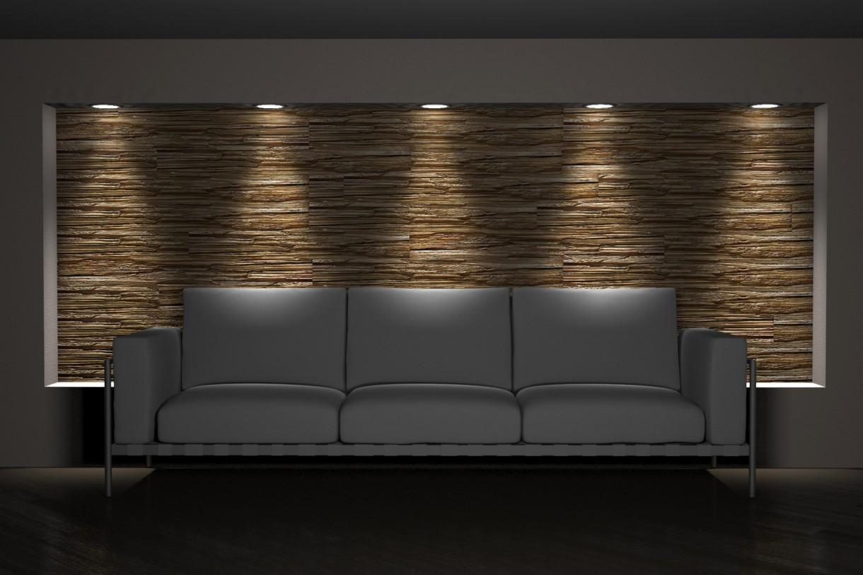 Pozostałe, Panele ścienne 3D firmy ZD Design - Panel 3d TRE firmy ZD Design