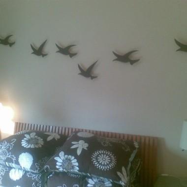 a ptaszory poleciały do... sypialni :)