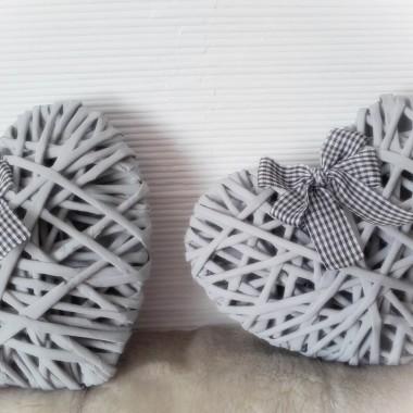 Serca z wikliny papierowej