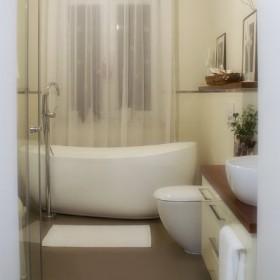 Moja łazienka - po dalszych pracach
