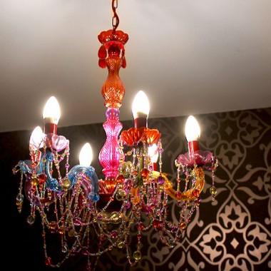 A to moja nowa lampa do sypialni. Wkrótce pstryknę więcej zdjęć pokoju.