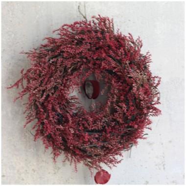 Propozycje jesiennych wianków imitujących wrzos. Zapraszam na: www.zastygla-natura.blogspot.com oraz: www.sklep.zastygla-natura.biz