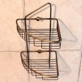 Mosiężny koszyk prysznicowy