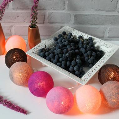 kule dekoracyjne w sam sprawdzą się jesienią jako ożywiający dodatek do wnętrza