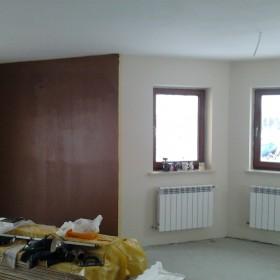 Malowanie salonu ...