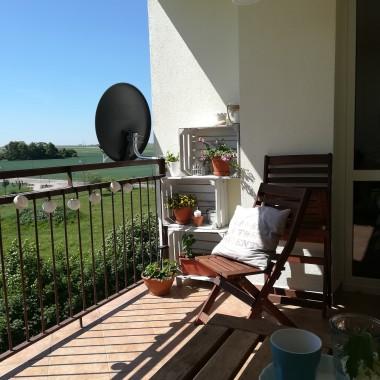 .. na moim balkonie słonecznie..