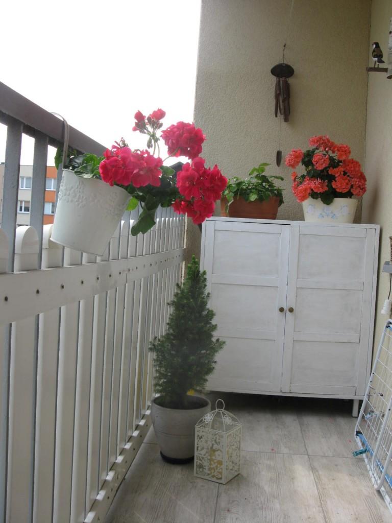 """Salon, """" Jak zmieniło się nasze mieszkanie"""" /konkurs - balkon"""