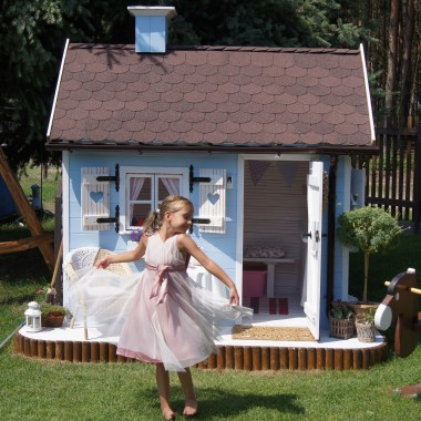 domek własnoręcznie wykonany:-)