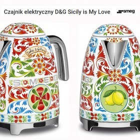 Czajnik elektryczny D&G Sicily is My Love SMEG