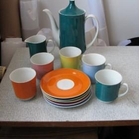 Moja kolekcja porcelany i szkła z lat 60-tych.