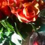 Dekoracje, Lutowa................zimowa............... - .................i róże................