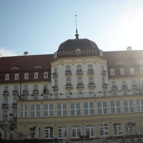 Grand Hotel i morze...