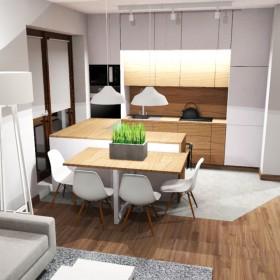 Mieszkanie na Warszawskim Mokotowie - Kuchnia
