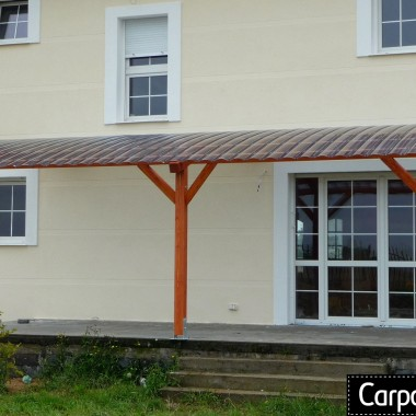 zadaszenie tarasu projekt pergola drewniana zadaszenie nad tarasem z poliwęglanu
