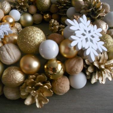 Wianki zimowo-świąteczne, piernikowe przygotowania