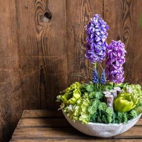 Kompozycje kwiatowe, roślinne