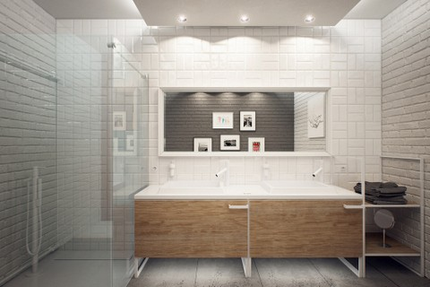 Zdjęcie 1127 W Aranżacji Duże łazienki Nowoczesne Aranżacje I