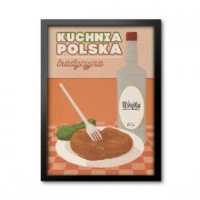 Obraz w ramie - Kuchnia polsk