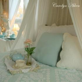 Śniadanie w łóżku, czy herbatka w ogrodzie?