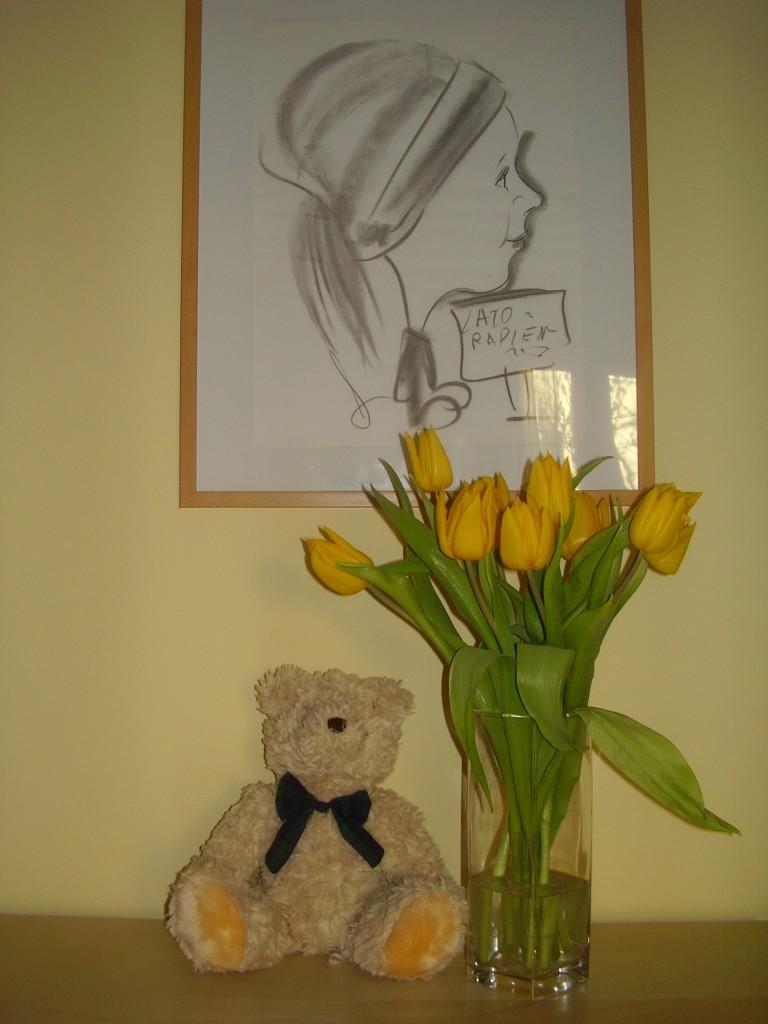 Wariacje kwiatowe....