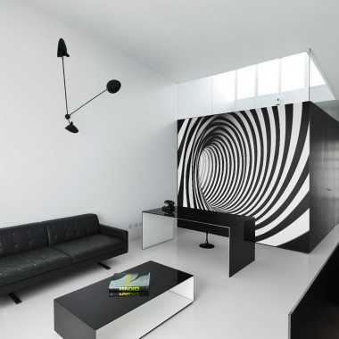 Fototapeta 3D spirala