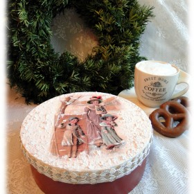 Pudełka na pierniki i inne świąteczne słodkości