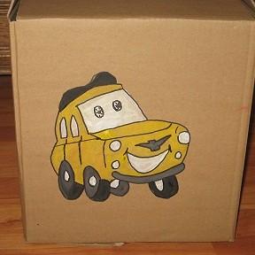 Zrób to sama -- czyli pudełka na zabawki