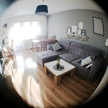 Moje mieszkanie - zmiany, rybie oko, słońce !