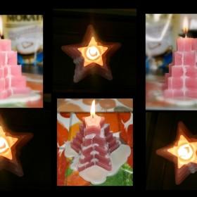 Moje pierwsze świeczki :))))))