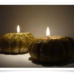 Dyniowe świeczniki
