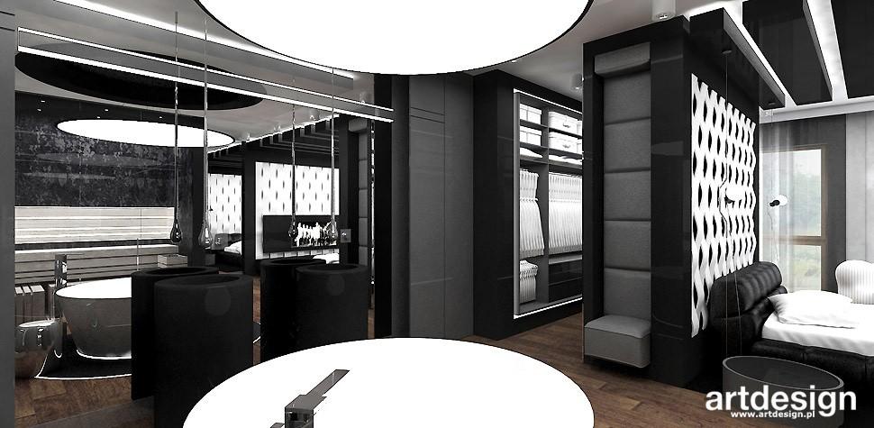 Garderoba, ARTDESIGN PERFORMANCE. Wnętrza domu (cz. 2) - sypialnia z łazienką i garderobą