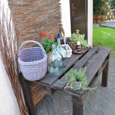 Jak zrobić coś z niczego, czyli stół z palety przemysłowej :)Jak wam się podoba?