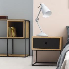 Minimalistyczny stolik nocny z szufladą ARSEN