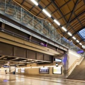 Dworzec we Wrocławiu – prezentacja wnętrza roku 2012