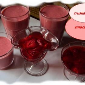 ogórkowo i truskawkowo:))pomieszane smaki