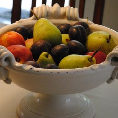 No i jesienne owoce królują na stole:)