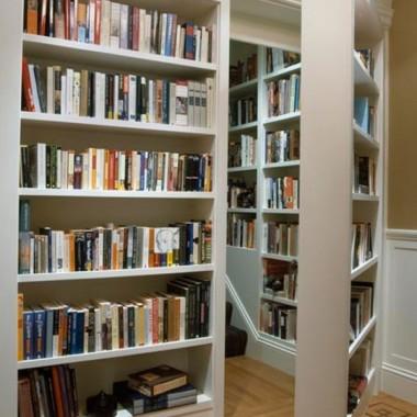 Domowa biblioteczka.
